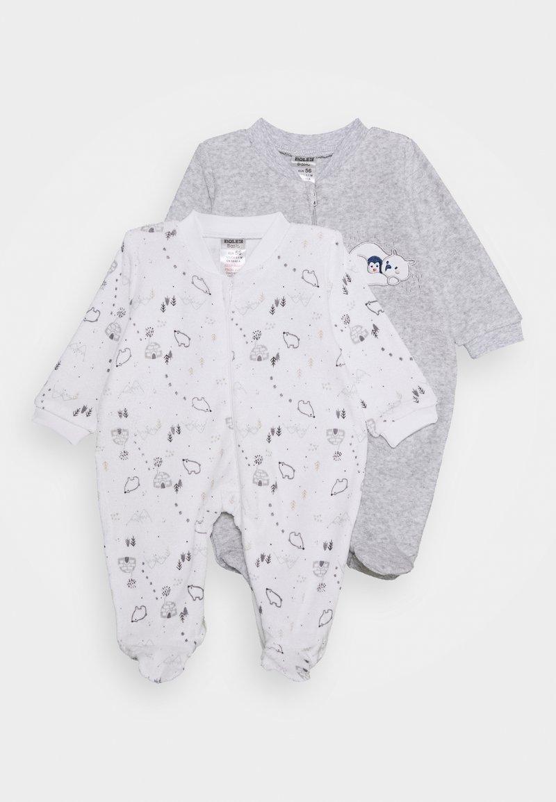 Jacky Baby - 2 PACK - Pyjama - grey/white