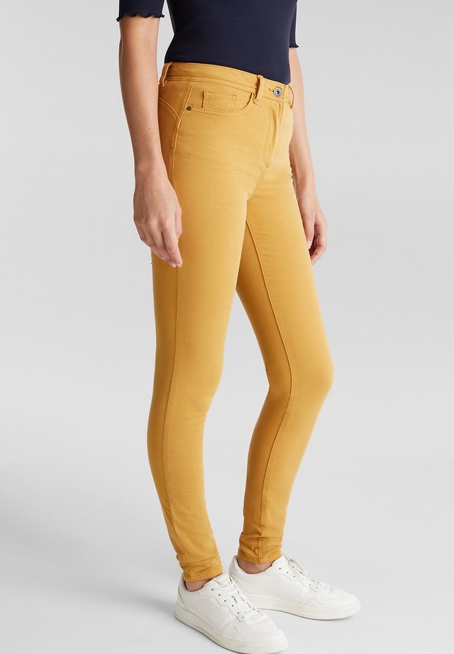 Jeans Skinny Fit - amber yellow