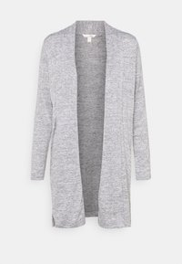 Banana Republic - LUXESPUN OPEN CARDIGAN - Kardigan - medium heather grey - 0