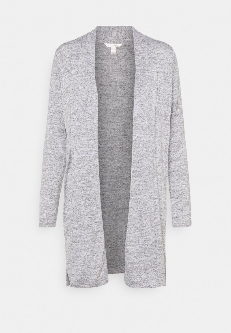Banana Republic - LUXESPUN OPEN CARDIGAN - Kardigan - medium heather grey