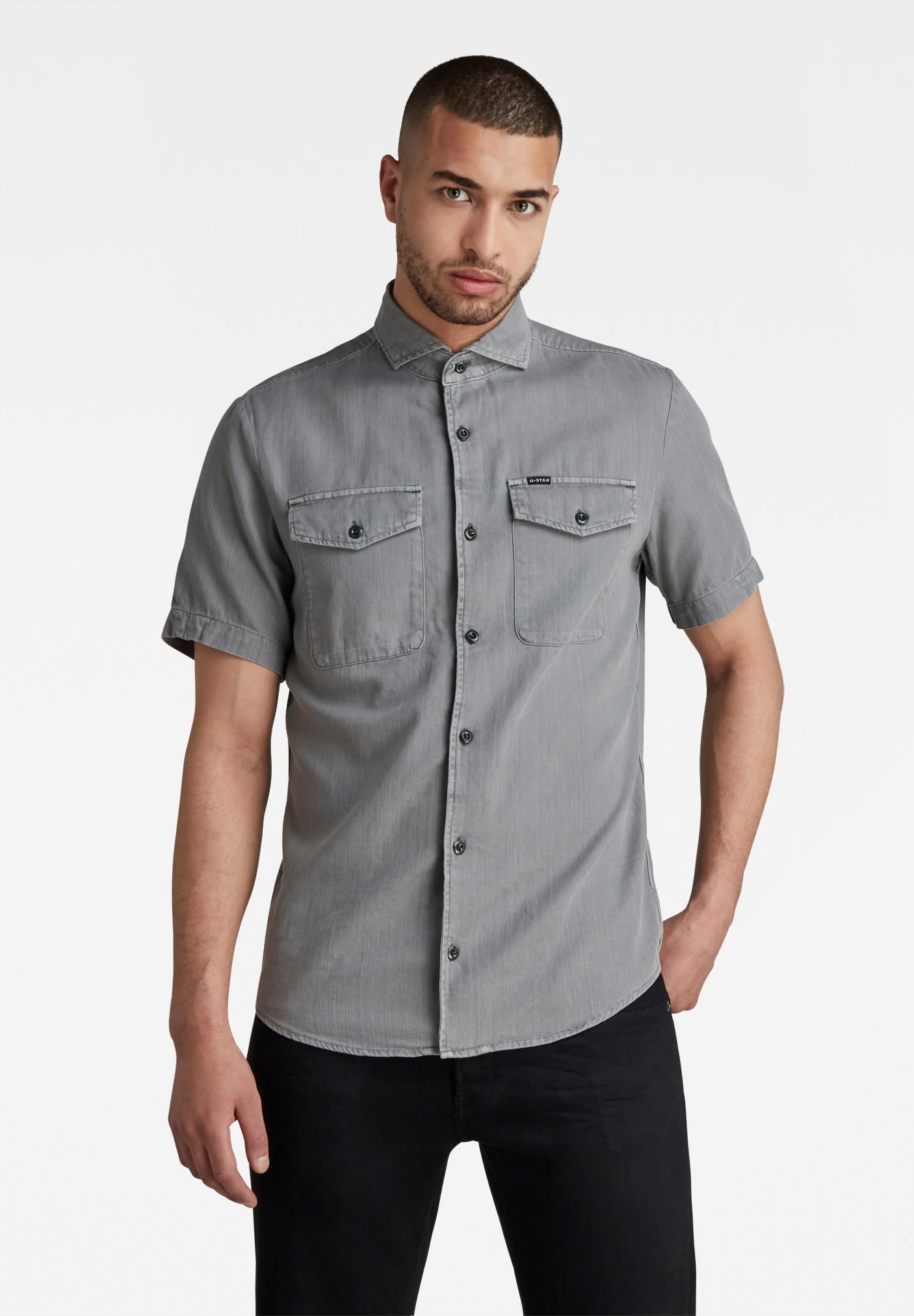 Uomo MARINE SERVICE SLIM - Camicia
