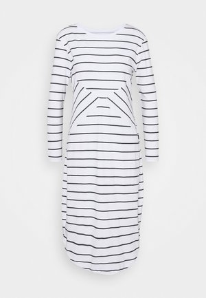 Žerzejové šaty - off-white