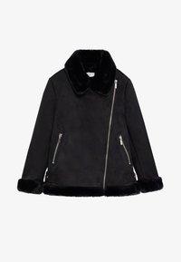 Mango - PINK - Zimní bunda - black - 0
