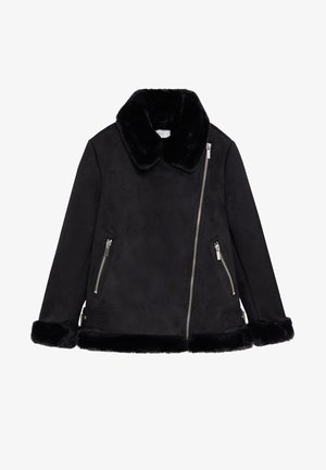 PINK - Winter jacket - black