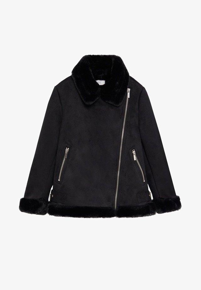 PINK - Veste d'hiver - black