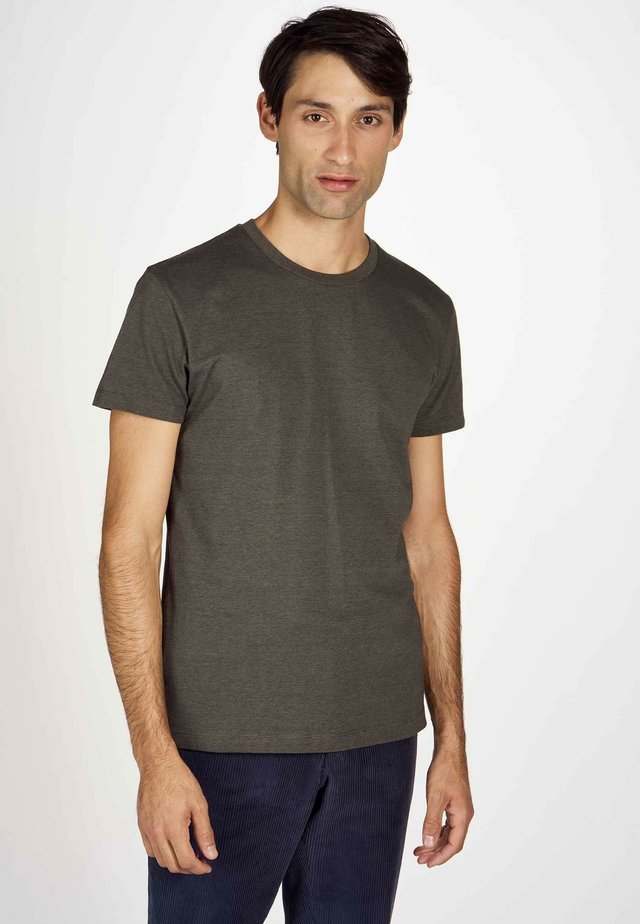 T-shirt basique - dark olive