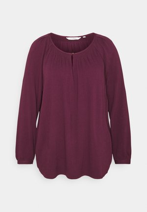 BLOUSE WITH STRUCTURE - Blouse - gipsy purple