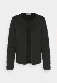 ONLY - ONLSPIRIT QUILTET SHORT JACKET  - Summer jacket - black - 3