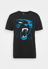 NFL CAROLINA PANTHERS REVEAL GRAPHIC - Club wear - black