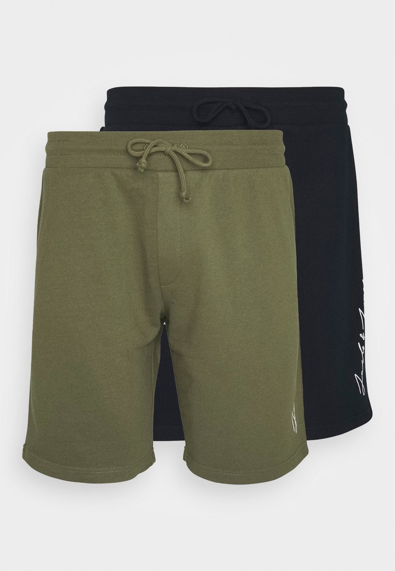 Jack & Jones - JJIOMBRE 2 PACK - Shorts - navy blazer