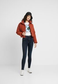 Topshop - JAMIE - Jeans Skinny Fit - blue black - 1
