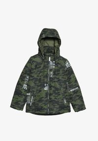 Name it - NKMMAX JACKET CAMO TEXT - Winter jacket - winter moss - 4