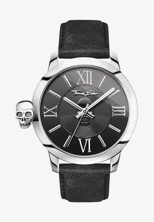 REBEL WITH KARMA - Watch - black/silver-coloured