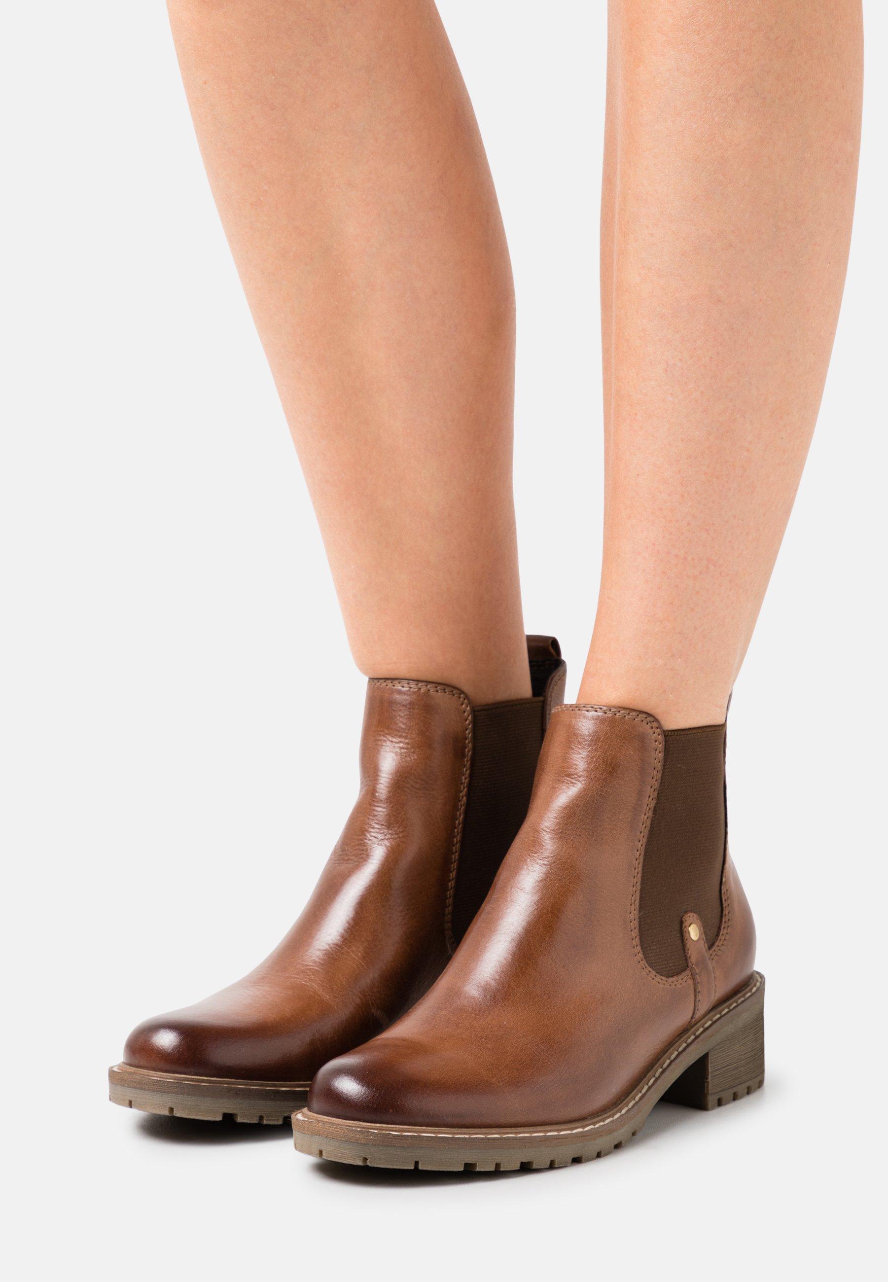 Femme LEATHER - Boots à talons