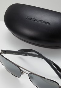 Polo Ralph Lauren - Sunglasses - semishiny dark gunmetal/silvercoloured mirror - 2