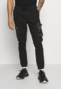 Brave Soul - Pantaloni cargo - black - 0