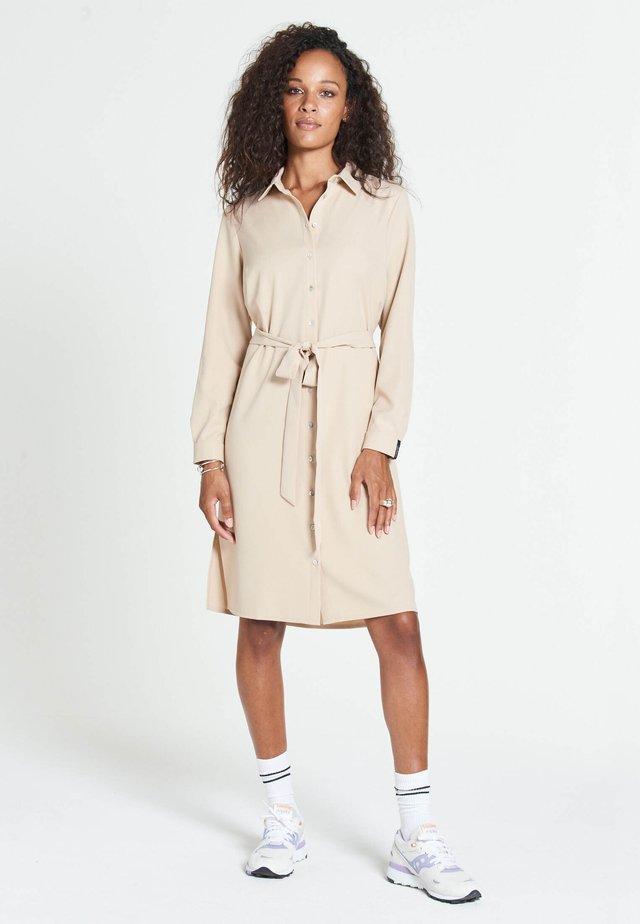 JOPLIN MAROCAIN - Skjortklänning - beige