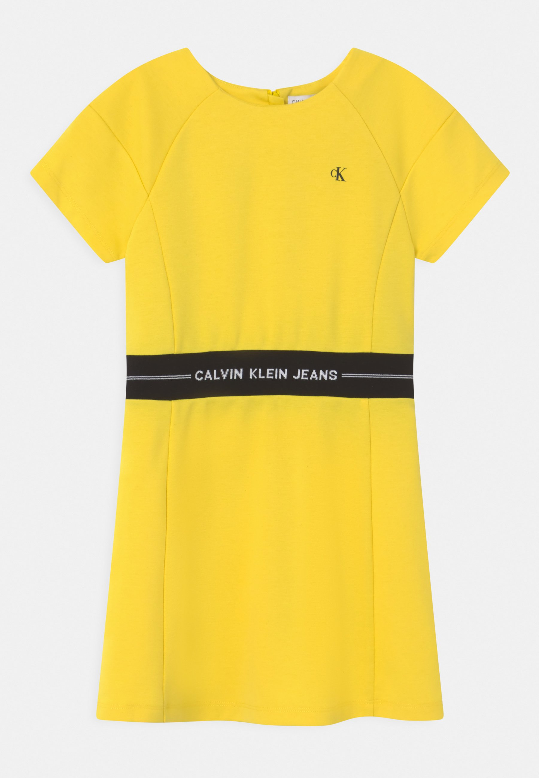 Kinder INTARSIA LOGO WAIST DRESS - Jerseykleid