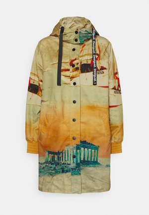 VENECIA - Short coat - yellow