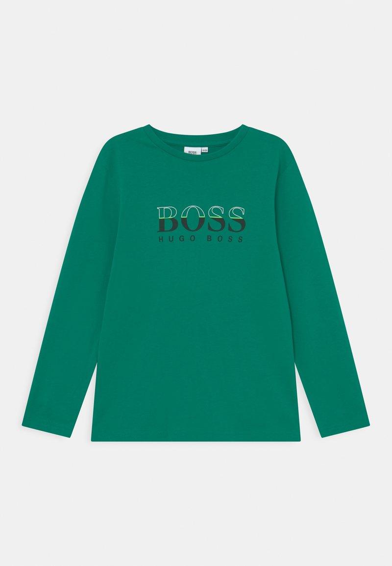 BOSS Kidswear - LONG SLEEVE - Long sleeved top - green