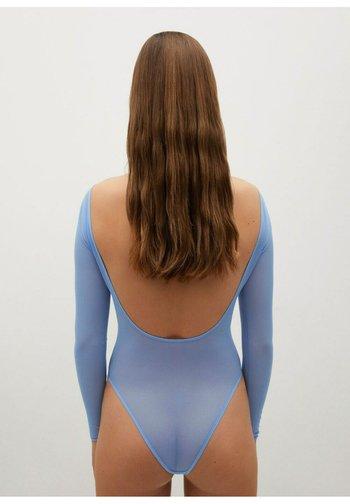 Long sleeved top - hemelsblauw