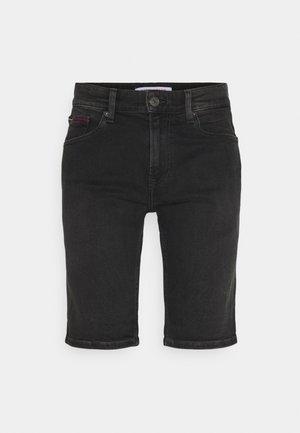 SCANTON - Jeansshorts - kansas black comfort