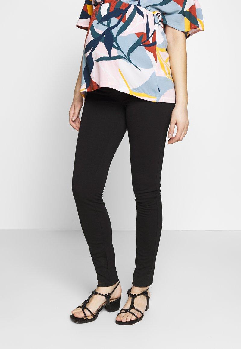 MAMALICIOUS - Spodnie materiałowe - black