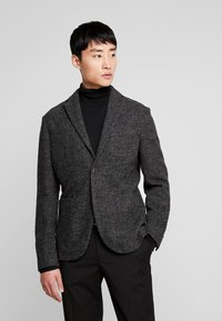 Sisley - Suit jacket - mottled dark grey - 0
