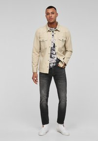 QS by s.Oliver - Shirt - beige - 1