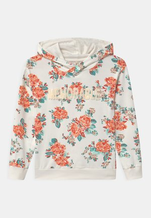 GIRLS MEMORABLE HOODIE - Hoodie - white