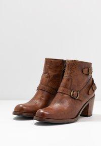 Belstaff - TRIALMASTER SHORT - Ankle boots - cognac - 4