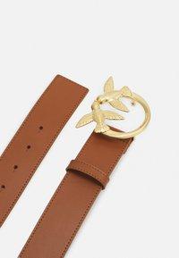 Pinko - LOVE BERRY SIMPLY BELT - Pásek - brown - 2
