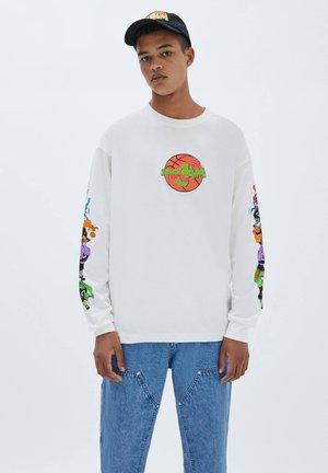 SPACE JAM FIGUREN - Maglietta a manica lunga - offwhite