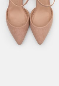 New Look Wide Fit - WIDE FIT SAMIRA - Tacones - nude