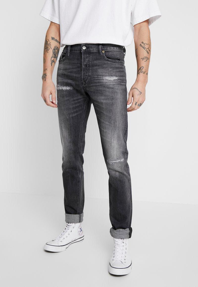 Diesel - TEPPHAR-X - Slim fit jeans - black denim