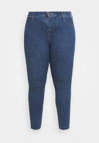 Levi's® Plus - 720 PL HIRISE SUPER SKNY - Jeans Skinny Fit - echo stonewash plus - 3
