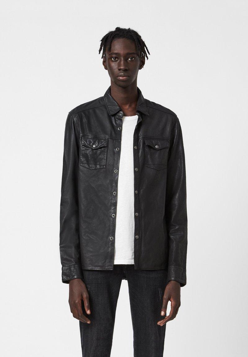 AllSaints - IRWIN - Shirt - black