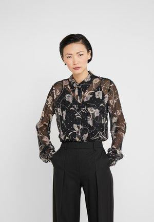 LORELEI TWO - Button-down blouse - black