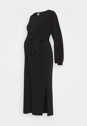 DRESS MOM LISA - Žerzejové šaty - black