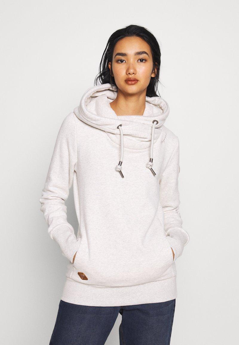 Ragwear - GRIPY BOLD - Hoodie - white