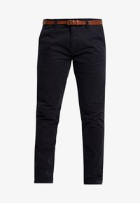 Dstrezzed - PRESLEY PANTS WITH BELT - Chinos - navy - 4