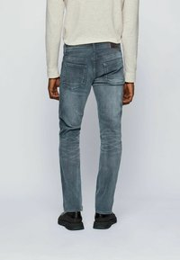 BOSS - DELAWARE - Slim fit jeans - anthracite - 2