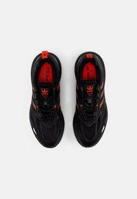 adidas Originals - ZX 2K BOOST 2.0 - Sneakers basse - core black/solar red/carbon - 3