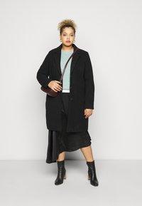 Vero Moda Curve - VMBLYSS CALF SKIRT - A-line skirt - black - 1