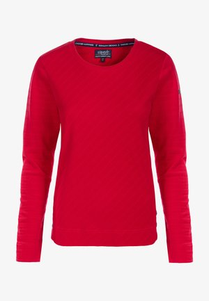 Sweatshirt - apfelrot