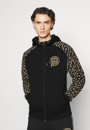 GARCIA ZIP THROUGH - Felpa aperta - black