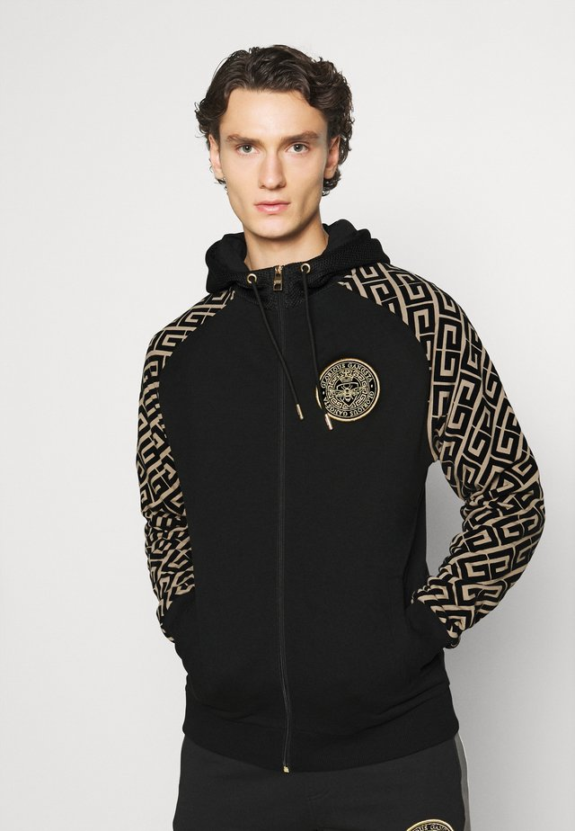 GARCIA ZIP THROUGH - Zip-up hoodie - black