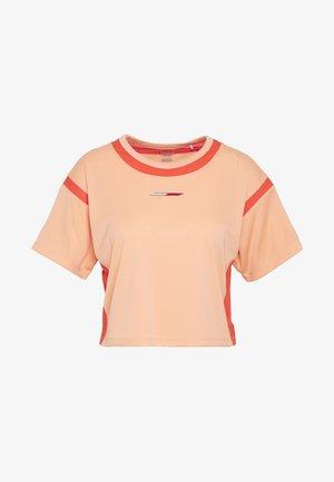 FASHION CROPPED TOP - Print T-shirt - orange
