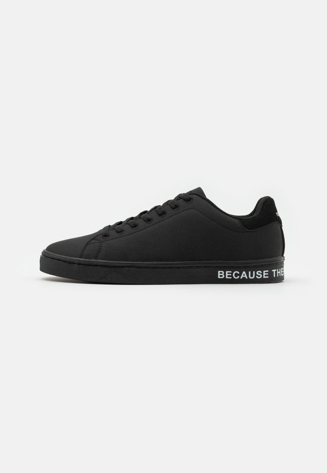 SANDFORD MAN - Sneakers laag - black