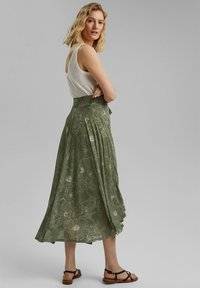 Esprit - Maxi skirt - light khaki - 2